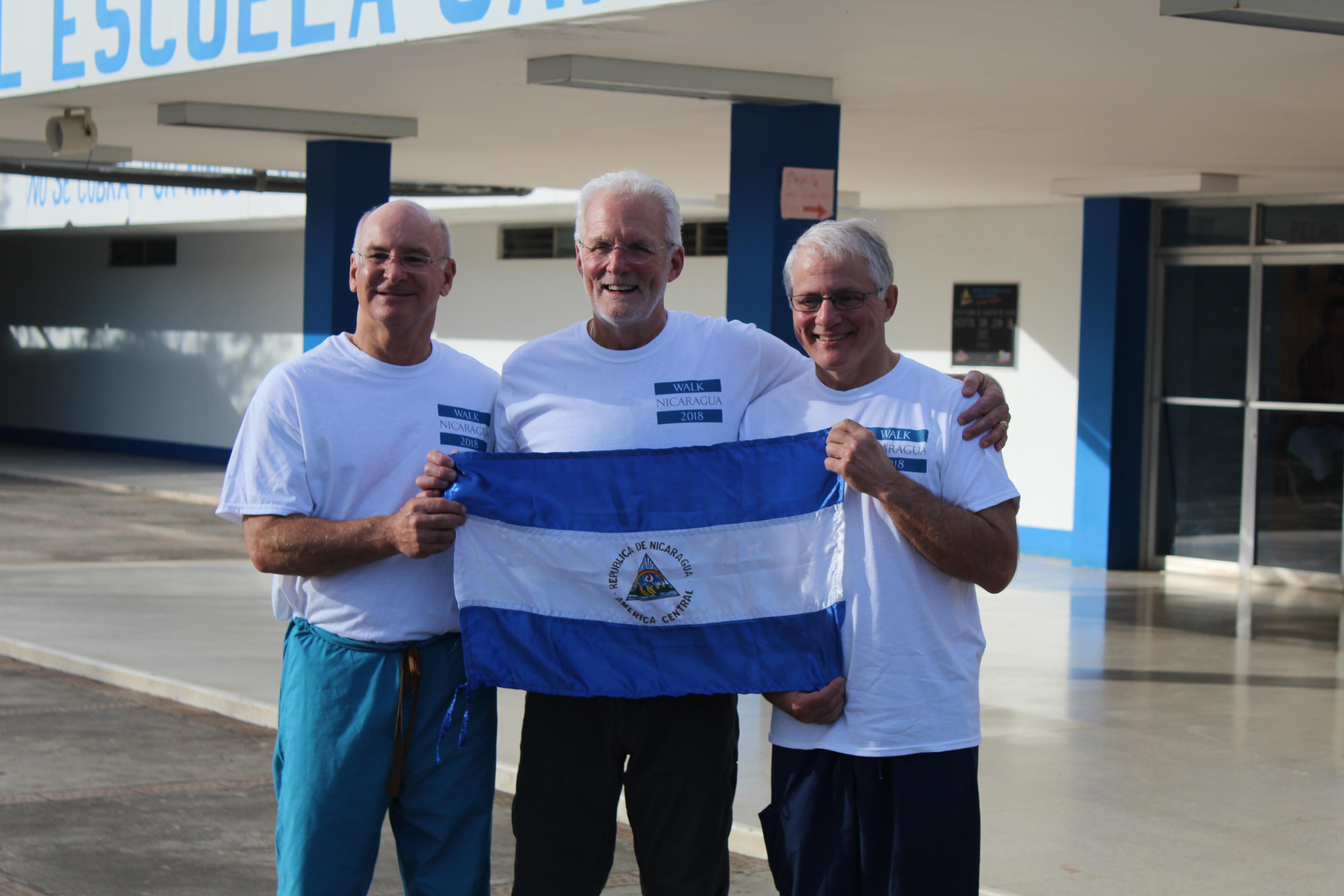 Our Surgeons: (Left to Right) Dr. Del Schutte, Jr., Dr. Kirk Johnson, Dr. Jim Jennings